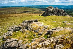 Haytor Rocks, Ilsington, Dartmoor National Park, Devon, England, United Kingdom, Europe by Jane Schmidt