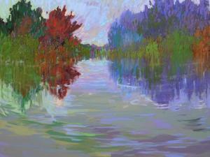 Waterways VII by Jane Schmidt