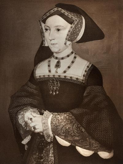 Jane Seymour, 1536-Hans Holbein the Younger-Giclee Print