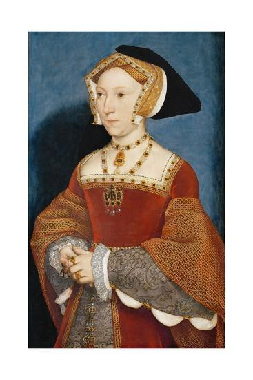 Jane Seymour, Queen of England-Hans Holbein the Younger-Giclee Print