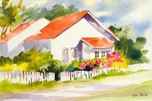 Beach Cottage II by Jane Slivka
