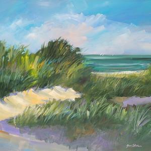 Blue Grass Breeze II by Jane Slivka