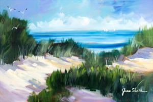 Dune Shoreside by Jane Slivka