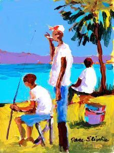 Fishing IV by Jane Slivka