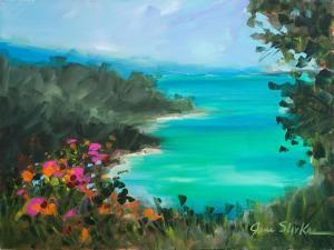 Overlooking the Inlet by Jane Slivka