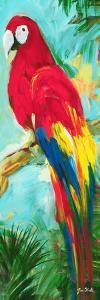 Tropic Parrots I by Jane Slivka