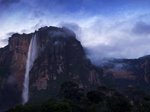 Angel Falls at Dawn, Canaima National Park, Guayana Highlands, Venezuela by Jane Sweeney