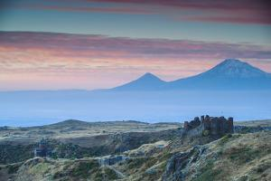 Armenia, Aragatsotn, Yerevan, Amberd Fortress Located on the Slopes of Mount Aragats by Jane Sweeney