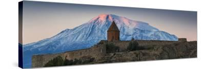 Armenia, Yerevan, Ararat Plain, Khor Virap Armenian Apostolic Church Monastery