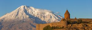 Armenia, Yerevan, Ararat Plain, Khor Virap Armenian Apostolic Church Monastery by Jane Sweeney