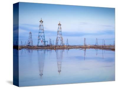 Azerbaijan, Abseron Peninsula, Oil Fields