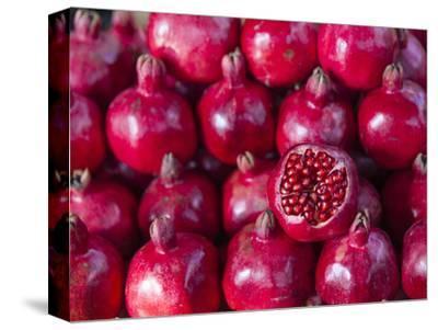 Azerbaijan, Baku, Ticaret Market, Pomegranate