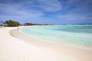 Baby Beach, San Nicolas, Aruba, Lesser Antilles, Netherlands Antilles, Caribbean, Central America by Jane Sweeney
