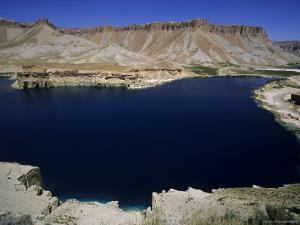 Band-I-Zulfiqar, the Main Lake at Band-E-Amir (Dam of the King), Afghanistan's First National Park by Jane Sweeney
