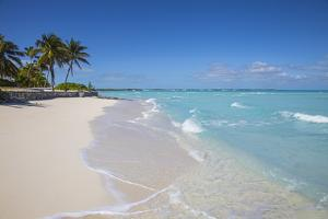 Beach at Treasure Cay, Great Abaco, Abaco Islands, Bahamas, West Indies, Central America by Jane Sweeney