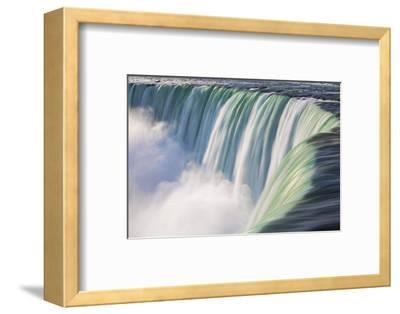 Canada, Ontario, Niagara, Niagara Falls, View of Table Rock Visitor Center and Horseshoe Falls