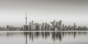Canada, Ontario, Toronto, View of Cn Tower and City Skyline by Jane Sweeney