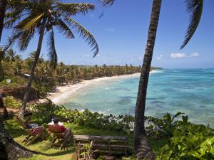 Corn Islands, Little Corn Island, Coral and Iguana Beach, Nicaragua by Jane Sweeney