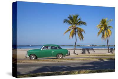 Cuba, Cienfuegos, the Malecon Linking the City Center to Punta Gorda