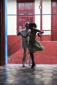 Cuba, Santiago De Cuba Province, Santiago De Cuba, Historical Center, Calle Heredia, Artex Bar by Jane Sweeney
