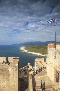 Cuba, Santiago De Cuba Province, Santiago De Cuba, Lighthouse by Jane Sweeney