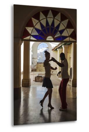 Cuba, Trinidad, Casa De Culture, Couple Salsa Dancing