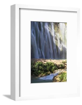 El Limon Waterfall, Eastern Peninsula De Samana, Dominican Republic, West Indies, Caribbean