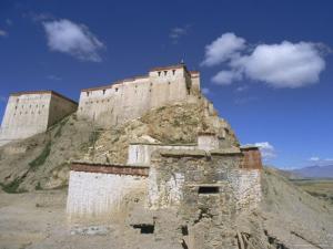 Gyangze Dzong (Monastery), Gyangze (Gyantse), Tibet, China by Jane Sweeney