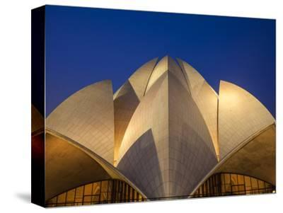 India, Delhi, New Delhi, Bahai House of Worship Know As the The Lotus Temple