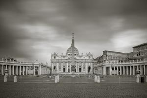 Italy, Lazio, Rome, St. Peters Square, St. Peter's Basilica by Jane Sweeney