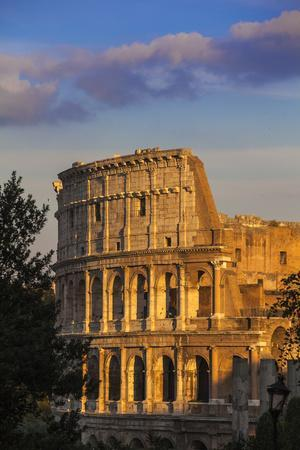 Italy, Lazio, Rome, the Colosseum