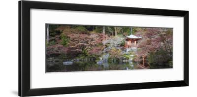 Japan, Kyoto, Daigoji Temple, Bentendo Hall and Bridge
