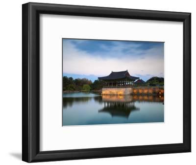 Korea, Gyeongsangbuk-Do, Gyeongju, Anapji Pond