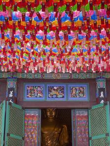 Korea, Seoul, Gangnam, Bongeunsa Temple, Lanterns, Lotus Lantern Festival Celebrations for Bhuddda' by Jane Sweeney