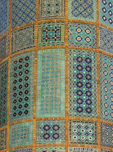Minaret of Shrine of Hazrat Ali, Who was Assassinated in 661, Mazar-I-Sharif, Afghanistan by Jane Sweeney