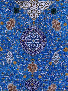 Mosaic Detail at Abul Al Fadhil Al Abbasi Shrine, Karbala, Karbala, Iraq by Jane Sweeney