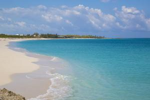 New Plymouth Beach, Green Turtle Cay, Abaco Islands, Bahamas, West Indies, Central America by Jane Sweeney