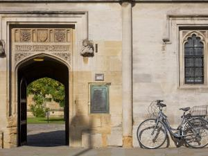Oxfordshire, Oxford, High Street, Magdalin College, England by Jane Sweeney