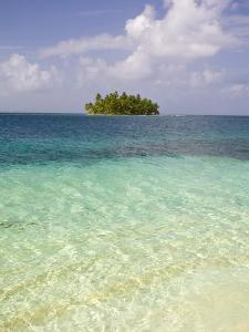 Panama, Comarca de Kuna Yala, San Blas Islands, Tropical Island by Jane Sweeney