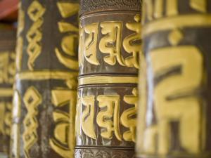 Prayer Wheels, Do-Drul Chorton, Gangtok, Sikkim, India by Jane Sweeney