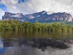 Scenery on Boat Trip to Angel Falls, Canaima National Park, Guayana Highlands, Venezuela by Jane Sweeney