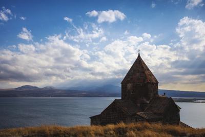 Sevanavank Monastery, Lake Seven, Armenia, Central Asia, Asia by Jane Sweeney