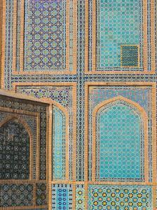 Shrine of Hazrat Ali, Who was Assassinated in 661, Mazar-I-Sharif, Balkh Province, Afghanistan by Jane Sweeney