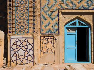 Sufi Shrine of Gazargah, Herat, Herat Province, Afghanistan by Jane Sweeney