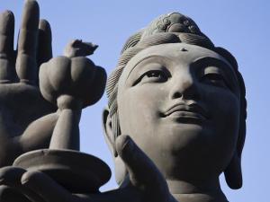 Tian Tan Buddha Statue by Jane Sweeney