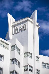 U.S.A, Miami, Miami Beach, South Beach, Collins Ave, Delano Hotel by Jane Sweeney
