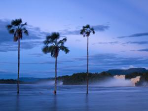 Venezuela, Guayana, Canaima National Park, Canaima Lagoon, Hacha Falls by Jane Sweeney