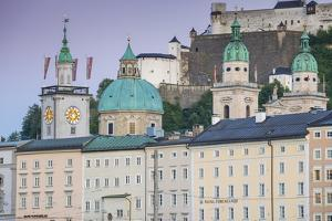 View of the Altstadt (The Old City), UNESCO World Heritage Site, Salzburg, Austria, Europe by Jane Sweeney