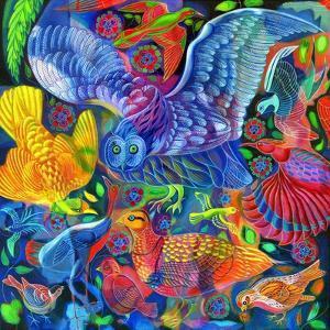 Birds, 2010 by Jane Tattersfield