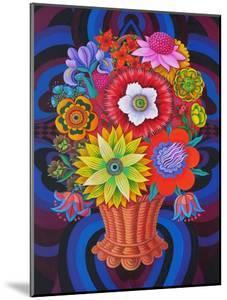 Blooms in a Basket, 2013 by Jane Tattersfield